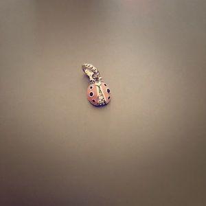 Pandora Lady Bug Charm